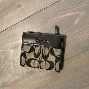 Coach signature slim wallet